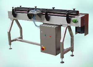 product gating filling conveyor belt